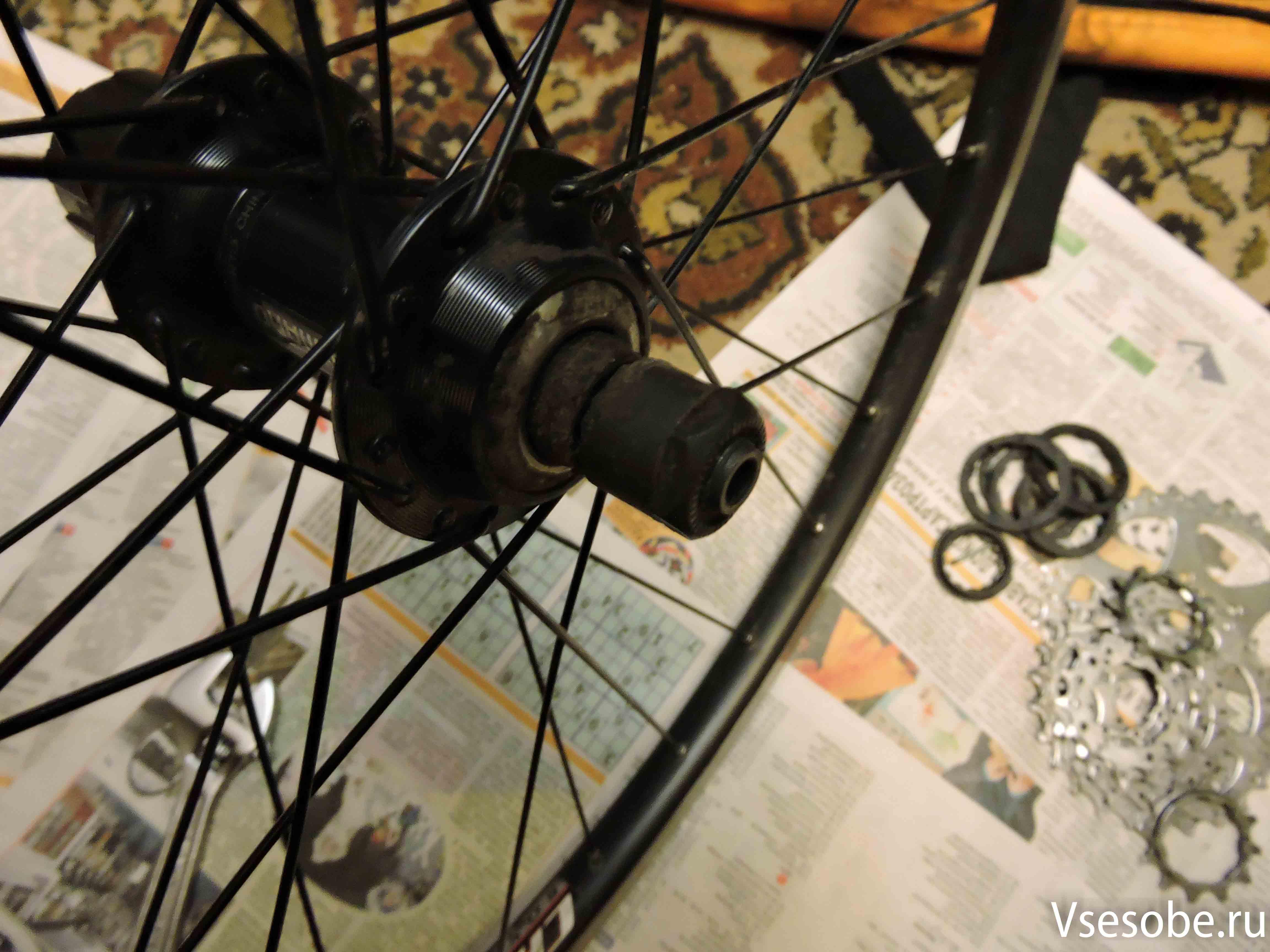 Ремонт велосипеда своими руками это ПРОСТО 92