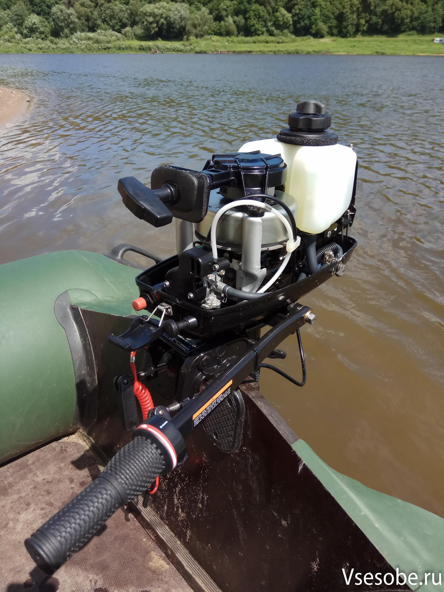 Ремонт и эксплуатация лодочных моторов HDX