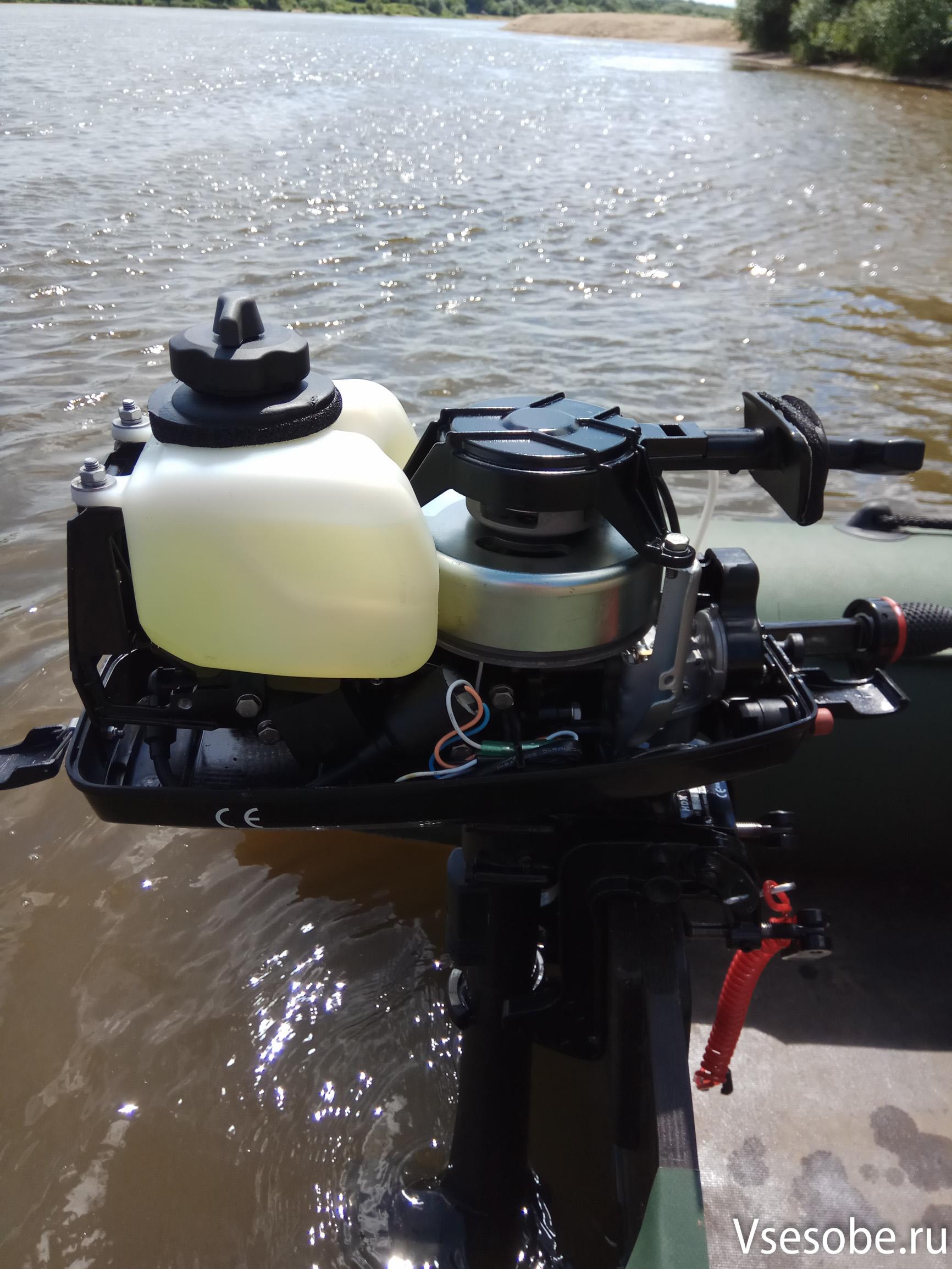 Как собрать лодочный мотор hdx